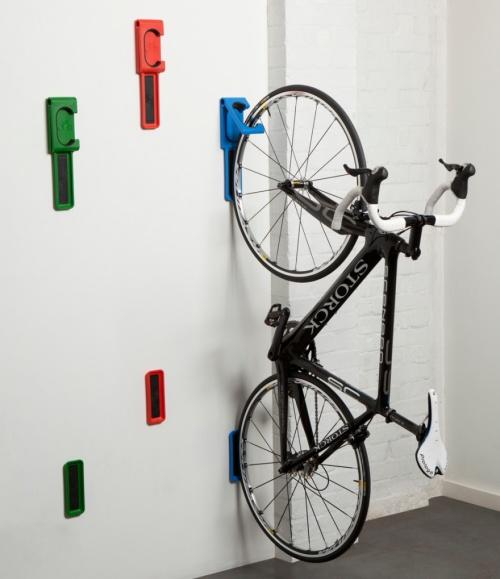 Zavesenie bicykla, skladovanie bicykla