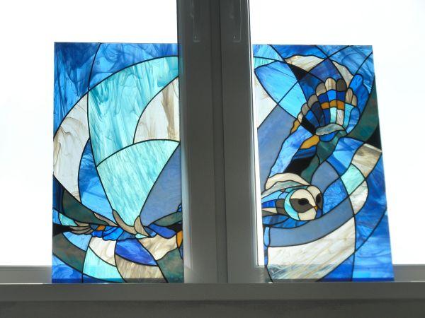 Vitrážne sklo a okná v interiéri