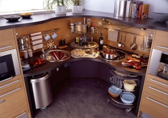 Kuchyňský roh, roh v kuchyňské lince