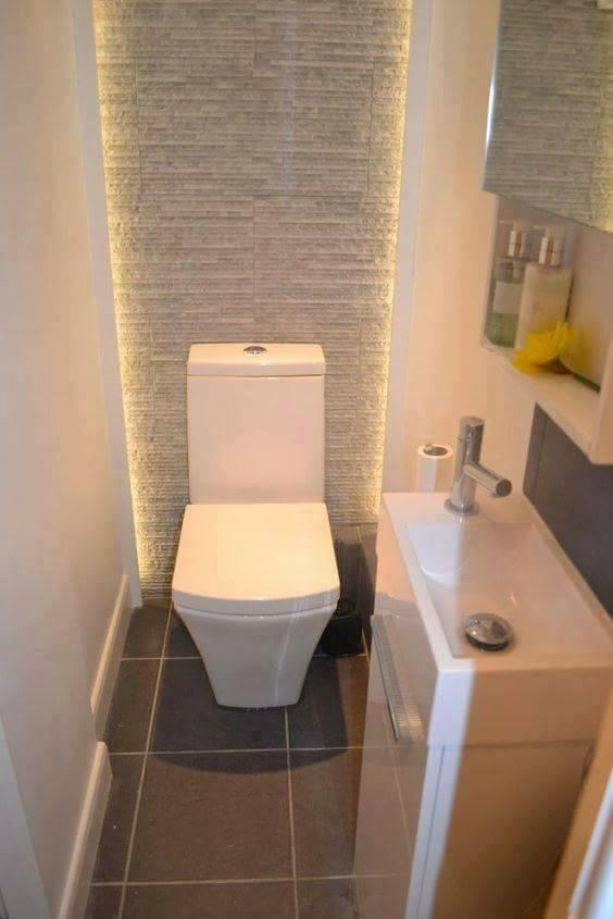 Osvetlenie kúpeľne a toalety