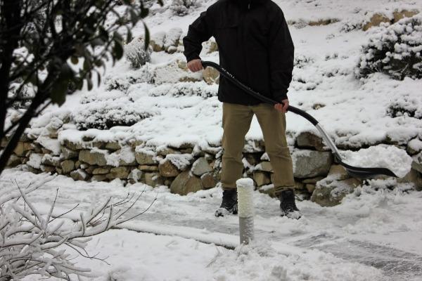Lopata na sneh Efekt