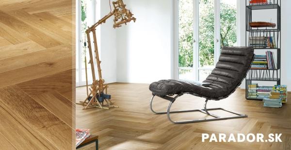 Parador drevená podlaha farebný dekor