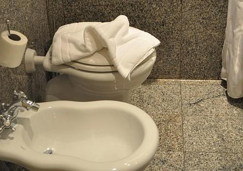 Bidet na toalete