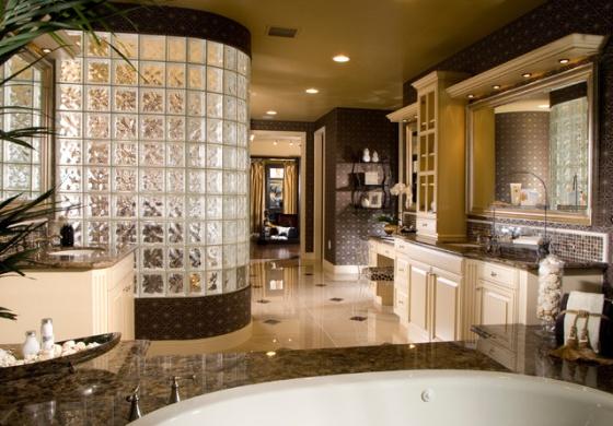 Kúpeľňa a sklobetón