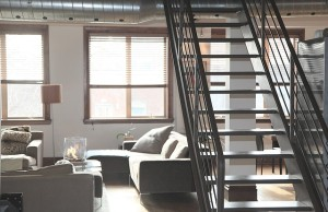 Schody a interiér