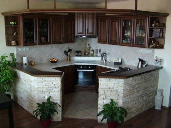 Rohová kuchyň