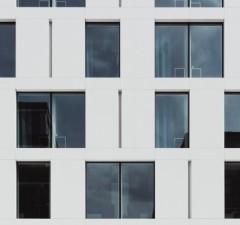 budova, jej okná afasáda