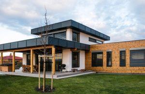 Ukážka stavby, drevodom
