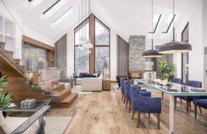 Interiér a obývačka
