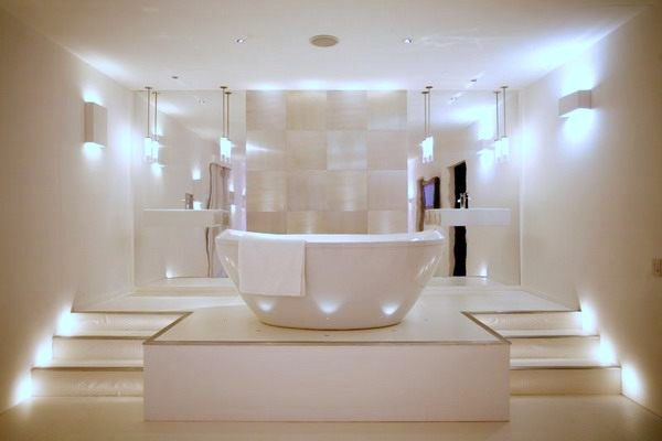 Kúpeľne a ich osvetlenie