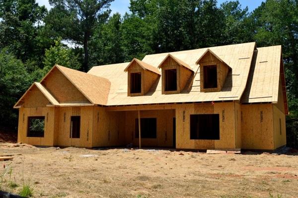 Konštrukcia americký rodinný dom, drevené drevodomy