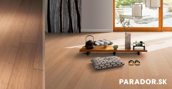 Parador podlaha a farebný dekor