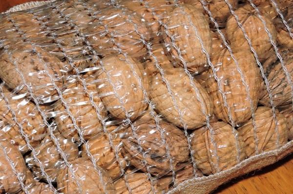 Vlašské orechy skladovanie