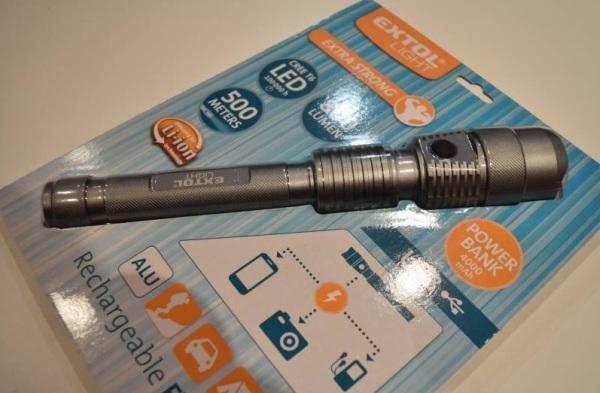 Baterka T6 CREE LED značky Extol Light