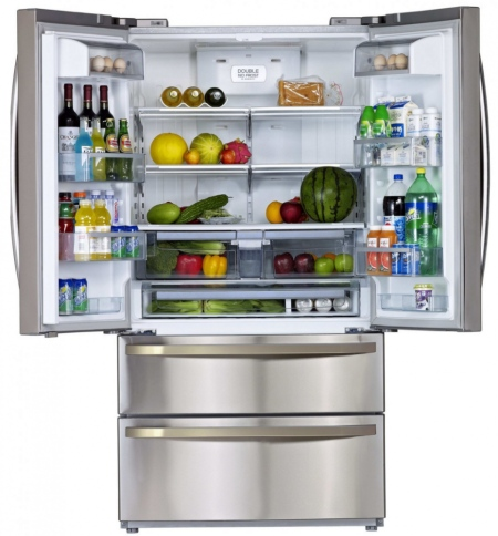 Americká chladnička a chladenie potravín, Side by Side