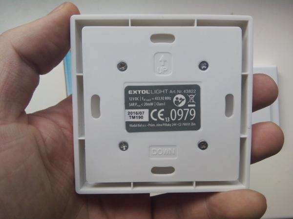Vypínače extol light diaľkové