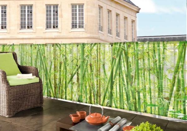 Tieniace siete bambus