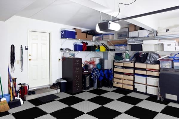 Fortelock dlažba garáže pracovňa