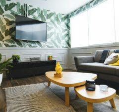 Obývačka a LCD