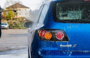 Vysokotlakový čistič WAPka umývanie auta