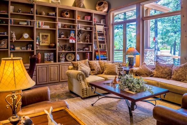 Obývačka a príklad