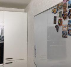 Magnetická tabuľa biela na písanie v Kuchyni