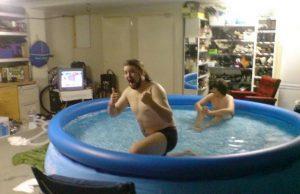 Vnútorný bazén vo vlastnom dome