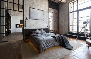 interier spálne moderne