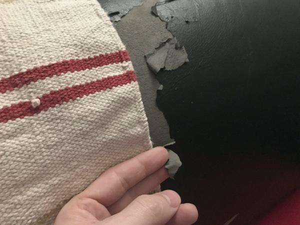 Eko koža poťahová čalúniaca látka na sedačke