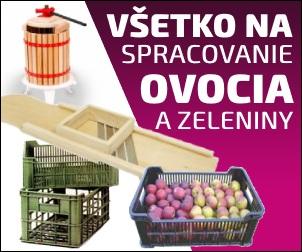 Spracovanie ovocia a zeleniny