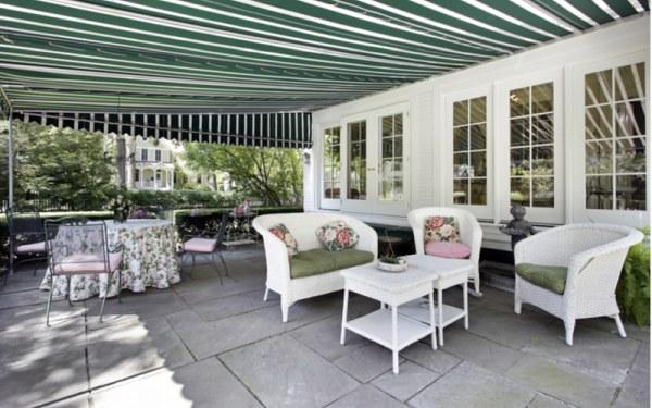 terasa a záhrada v exteriér