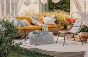 Záhrada a relax na sedenie