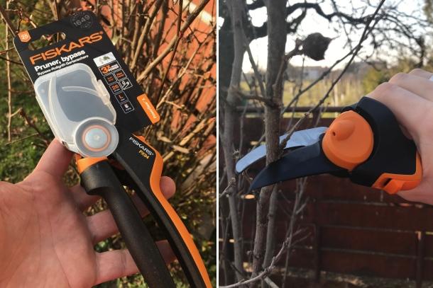 Fiskars prevodové záhradné nožnice PowerGear™ X (PX94)