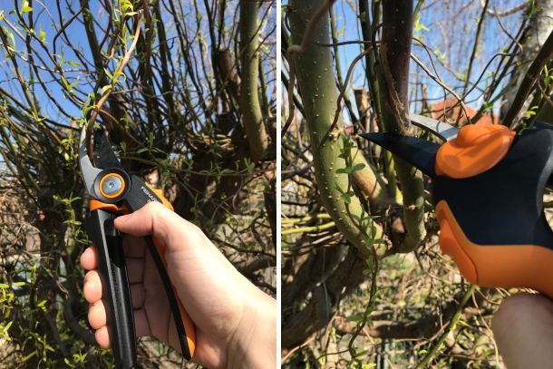 Fiskars prevodové záhradné nožnice PowerGear ™ X (PX94)