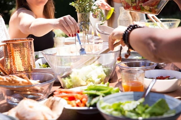 záhradná slávnosť, párty