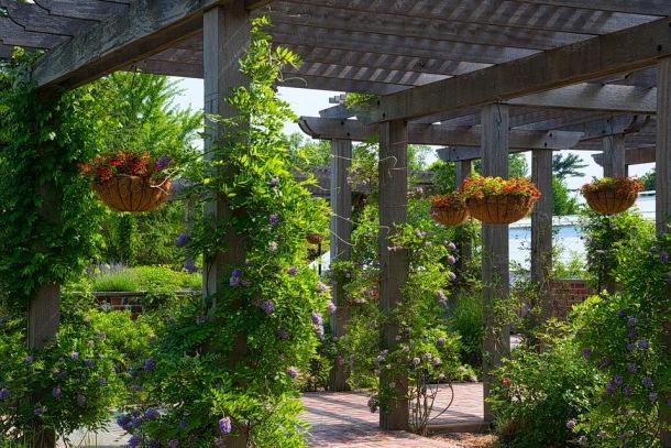 Pergola, záhradné drobné stavby