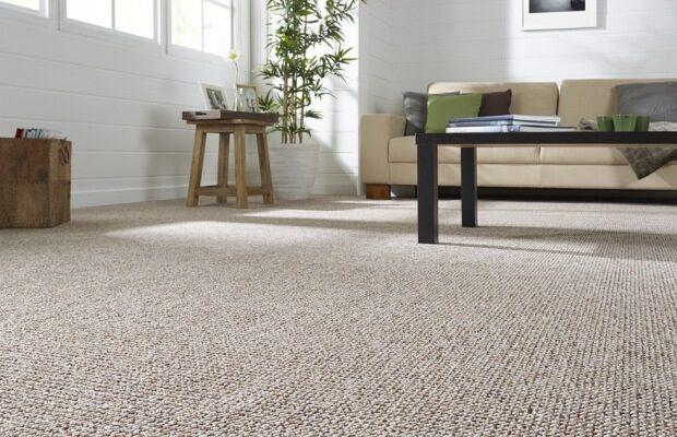 uzlíkový koberec jednofarebný