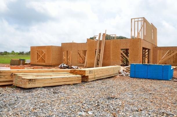 Stavba drevostavba