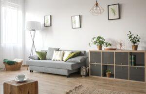 obývačka a malý priestor